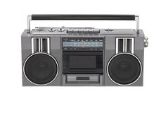 Radio cassette player Royalty Free Stock Images