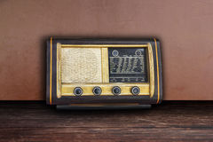 Old retro radio Royalty Free Stock Photography