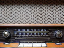 Old retro radio Royalty Free Stock Photo