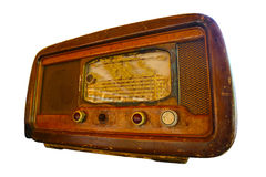 Old retro radio Royalty Free Stock Images