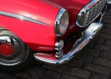 Old Retro Red Car Stock Photos