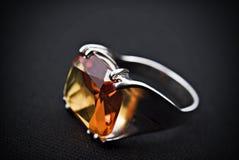 old retro ring silver Стоковое фото RF