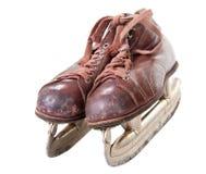 Old retro skates Stock Photo