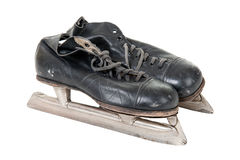 Old retro skates Stock Images