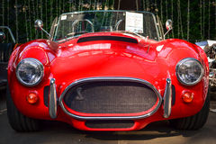 Old retro sport car Cobra Royalty Free Stock Photos