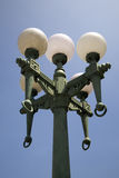 Old retro street lights Stock Image