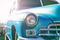 Old retro style car Stock Photography