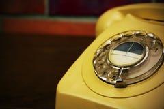 Old retro style rotary telephone Royalty Free Stock Image