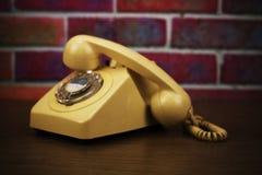 Old retro style rotary telephone Royalty Free Stock Photo