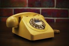 Old retro style rotary telephone Royalty Free Stock Photography