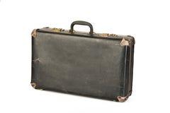 Old, retro suitcase isolated on white Stock Image