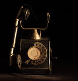 Old retro telephone Royalty Free Stock Photography