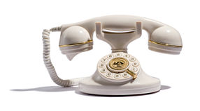 Old retro telephone Royalty Free Stock Photo