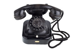 Old Retro telephone Royalty Free Stock Image