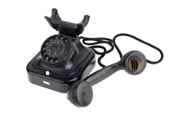 Old Retro telephone Stock Image