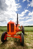 Old Retro Tractor Stock Photography