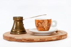 Old retro turkish coffee utensil Royalty Free Stock Image