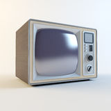 Old retro tv Royalty Free Stock Photography