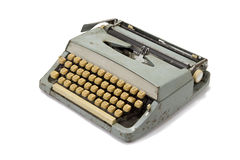 Old retro typewriter Royalty Free Stock Images