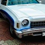 Old retro or vintage car front side Stock Image