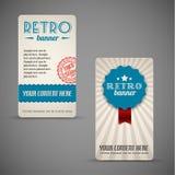 Old Retro Vintage Grunge Cards Royalty Free Stock Photo