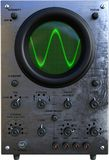 Vintage Oscilloscope, Technology, Engineering, isolated Royalty Free Stock Photos