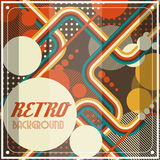 Old retro Vintage style background Design Template Stock Photography