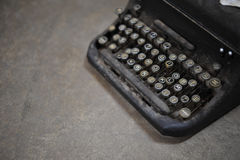 old retro vintage type writer so classic manual machine technolo Royalty Free Stock Images