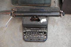 old retro vintage type writer so classic manual machine technolo Stock Photography