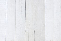 Old retro white painted wooden planks Stock Images
