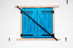 Old retro window with shutters Stock Photos