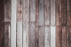 Old reuse wood door. With simple door handle Stock Photography