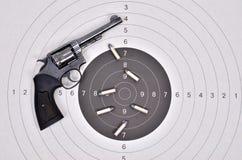 Old gun with bullet Royalty Free Stock Photos