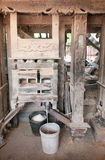 Old rice mill in Cambodia Royalty Free Stock Image