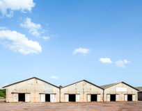 Old rice warehouse Royalty Free Stock Images