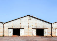 Old rice warehouse Royalty Free Stock Photo