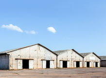 Old rice warehouse Royalty Free Stock Image
