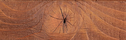 Old rich wood grain texture background with knots Stock Photography
