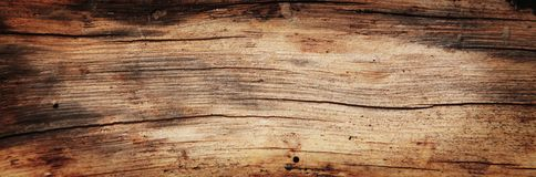 Free Old Rich Wood Grain Texture Background With Knots Stock Photography - 80815992