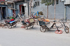 Old rickshaw Royalty Free Stock Photos