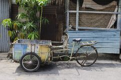 Old rickshaw Stock Image