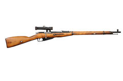 Old rifle Royalty Free Stock Photography