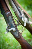 Old Rifles Stock Photo