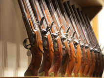 Old Rifles Royalty Free Stock Images