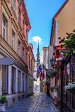 Old Riga street Stock Images