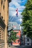 Old Riga street Royalty Free Stock Photo