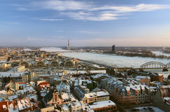 Old Riga view Stock Image