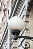 Old ring light on the historic building along Royalty Free Stock Photography