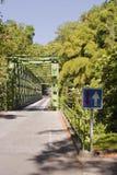 Steel girder bridge Royalty Free Stock Image