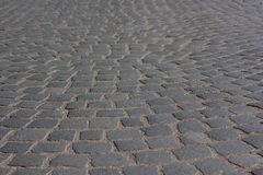 Old road cobblestone Royalty Free Stock Photography